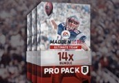 Madden NFL 17 - 14 Pro Pack Bundle DLC XBOX One CD Key