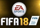 FIFA 18 EN/FR/ES/PT Languages Only Origin CD Key