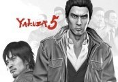 Yakuza 5 UK PS4 CD Key