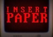 Insert Paper Steam CD Key