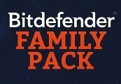 Bitdefender Family Pack 2018 (1 Year / Unlimited Devices)