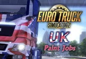 Euro Truck Simulator 2 UK Paint Jobs Pack DLC Steam Gift