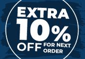 10% OFF Storewide Code - One per account!