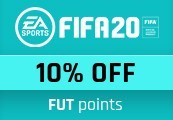 10% Discount Code for FIFA 20 FUT Points - One per account!