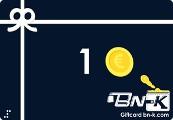BN-K Marketplace €1 Gift Card