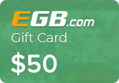 EGB.com Egamingbets $50 Gift Card