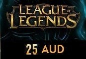 League of Legends 25 AUD Prepaid RP Card OCE