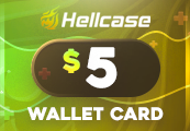 Hellcase.com 5 USD Wallet Card Code