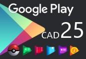 Google Play $25 CA Gift Card