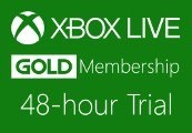 XBOX Live 48-hour Gold Trial Membership US/EU
