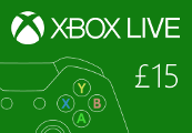 XBOX Live £15 Prepaid Card UK