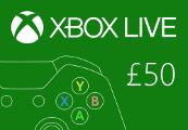 XBOX Live £50 Prepaid Card UK