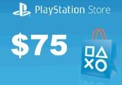 Playstation Network Card $75 US