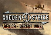 Sudden Strike 4 - Africa: Desert War DLC Steam CD Key