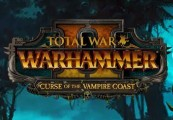 Total War: WARHAMMER II - Curse of the Vampire Coast DLC EU Steam CD Key