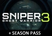 Sniper Ghost Warrior 3 + Season Pass Steam CD Key