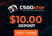 CSGOatse - $10 USD Gift Card
