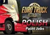 Euro Truck Simulator 2 - Polish Paint Jobs DLC Steam CD Key