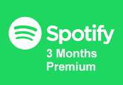 Spotify 3-month Premium Gift Card US