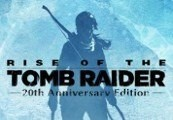 Rise of the Tomb Raider 20th Anniversary Edition Clé Steam