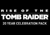 Rise of the Tomb Raider - 20 Year Celebration Pack DLC Clé Steam