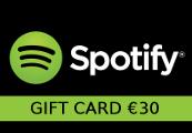 Spotify 30 EUR DE Pre-Paid