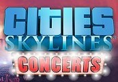Cities: Skylines - Concerts DLC Steam CD Key