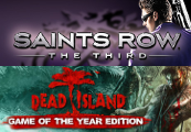Dead Island GOTY + Saints Row: The Third DLC Bundle Clé Steam