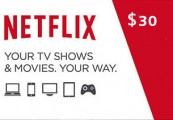 Netflix Gift Card $30 US