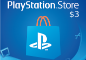 PlayStation Network Card $3 US
