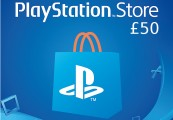 PlayStation Network Card £50 UK