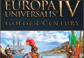 Europa Universalis IV - Golden Century DLC Steam CD Key