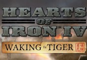 Hearts of Iron IV - Waking the Tiger DLC Steam CD Key