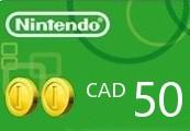 Nintendo eShop Prepaid Card $50 CA Key