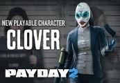 PAYDAY 2 - Clover Mega Mask DLC Steam CD Key
