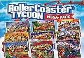 RollerCoaster Tycoon 9 Megapack Steam CD Key