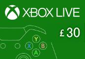 XBOX Live £30 Prepaid Card UK