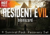 Resident Evil 7: Biohazard + Survival Pack: Recovery Set DLC EMEA Steam CD Key