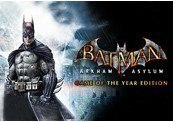 Batman: Arkham Asylum GOTY Edition Chave Steam