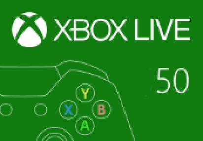 XBOX Live 50 BRL Prepaid Card BR | Kinguin - FREE Steam Keys Every Weekend!