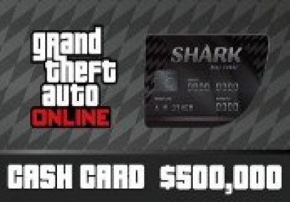 Grand Theft Auto Online - $500,000 Bull Shark Cash Card PC Activation Code  | Kinguin - FREE Steam Keys Every Weekend!