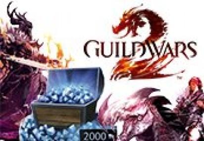 Guild Wars 2 EU 2000 Gems Code | Kinguin - FREE Steam Keys