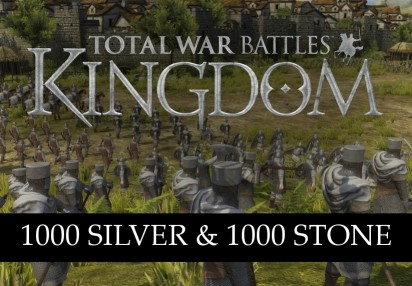 Total War Battles: KINGDOM – 1000 Silver & 1000 Stone CD Key | Kinguin -  FREE Steam Keys Every Weekend!