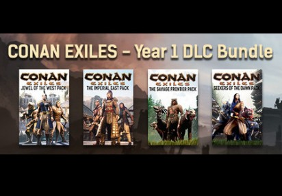 Conan Exiles - Year 1 DLC Bundle Steam CD Key | Kinguin - FREE Steam