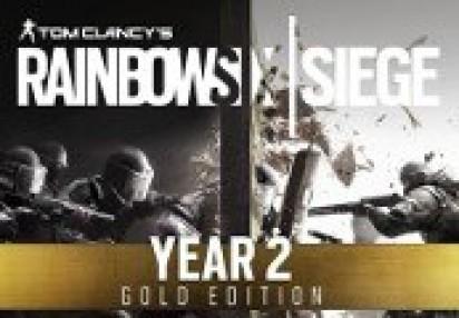Tom Clancy's Rainbow Six Siege Year 2 Gold Edition Uplay CD