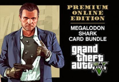 Grand Theft Auto V: Premium Online Edition & Megalodon Shark Card Bundle  Rockstar Digital Download CD Key | Kinguin - FREE Steam Keys Every Weekend!