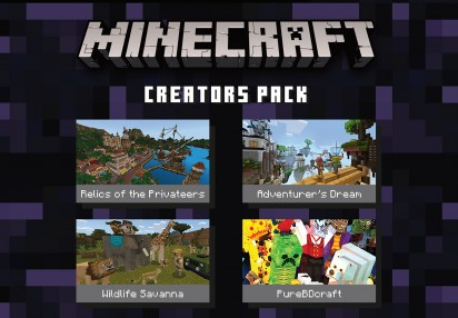 Minecraft - Creators Pack DLC XBOX One CD Key | Kinguin - FREE ...