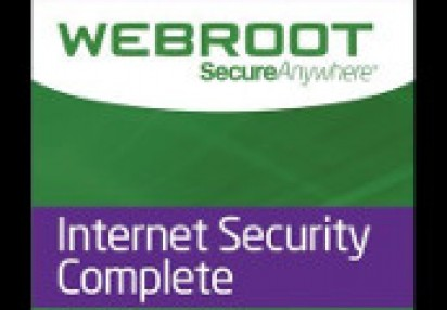 Webroot Internet Security Complete (5 Devices 1 Year) Key