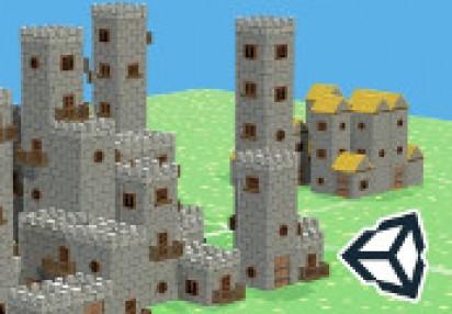 Unity 5 Build a System that Generates Houses & Castles Auto