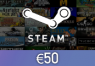 Steam Wallet Card €50 Global Activation Code | Kinguin